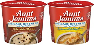 Aunt Jemima Pancake Cups, Variety Pack, (12 Pack) Packaging May Vary)