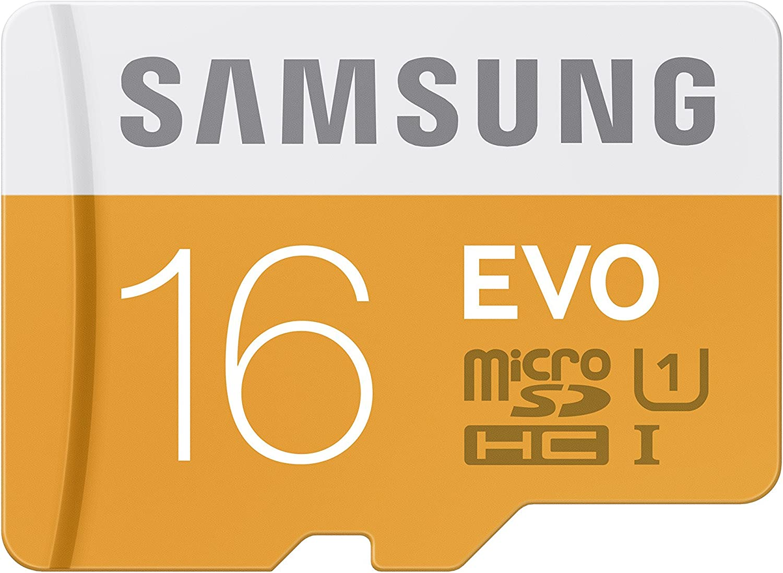 TEST Samsung Electronics 16GB EVO Micro SDXC Memory Card 1