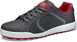 Junior Youth Spikeless Performance Street Boys Golf Shoe Grey Comfortable oncourse offcourse
