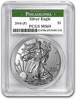 2016 p silver eagle pcgs