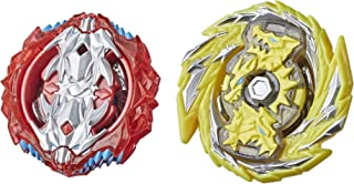 Beyblade Burst Surge Dual Collection Pack Hypersphere Master Kerbeus K5 and Slingshock Leopard L4 Spinning Top Toys -- 2 B...