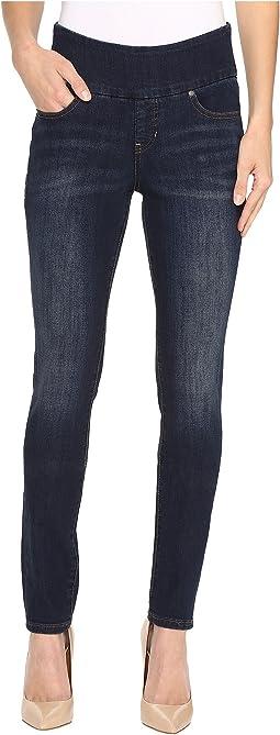 Jag Jeans - Nora Pull-On Frontline Denim Skinny in Deep Ocean