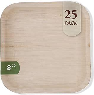 Palm Leaf Compostable Plates, Eco-Friendly & Disposable - 8