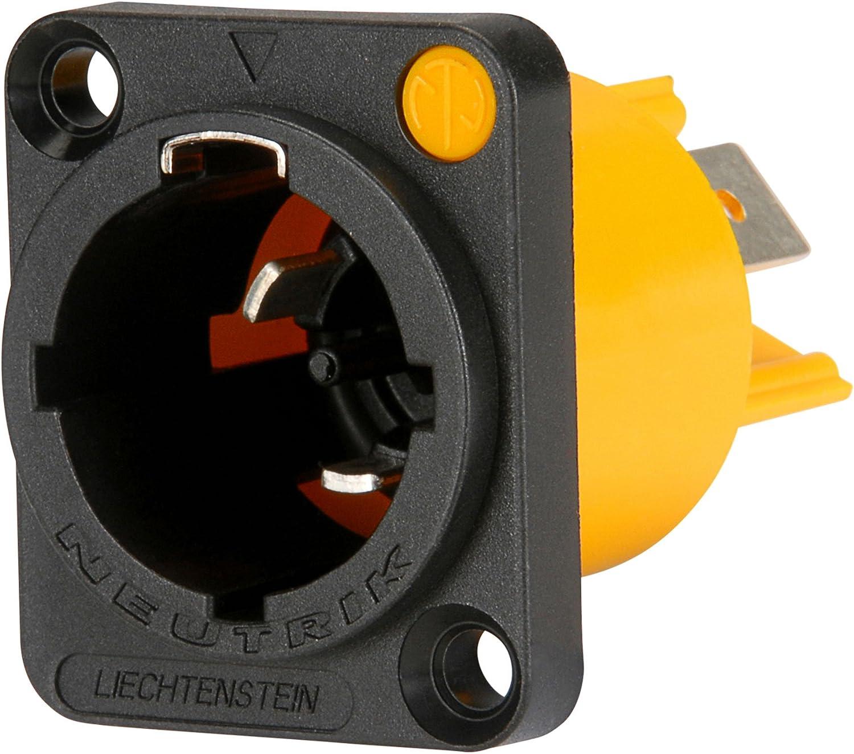 Neutrik NAC3MPX Male Powercon Super intense SALE True Connector with latest Twist Chassis