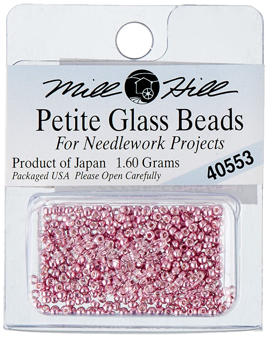 Mill Hill Petite Glass Seed Beads, Old Rose