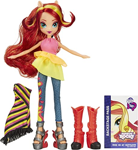 compras online de deportes My Little Pony Equestria Girls Rainbow Rocks Sunset Shimmer Doll Doll Doll with Fashions  tienda de ventas outlet