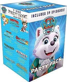 PAW Patrol 7 Disc Party Pack (39 Episodes) - DVD Box set