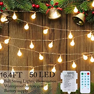 Best full bell led fairy string lights Reviews
