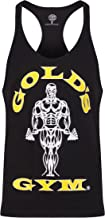 Golds Gym 2018 Muscle Joe Premium Stringer Vest Mens Fitness Training Gym Y-Back Tank Top