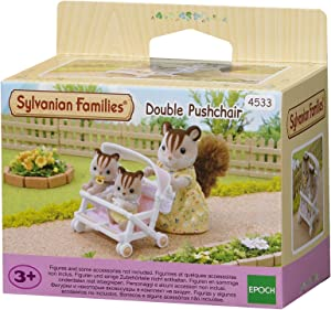 Sylvanian Families - 4533 - Carrito doble de bebés