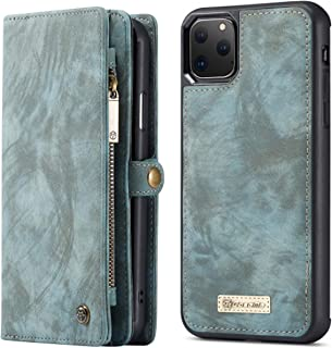 Kiss Me iphone 11 pro max Leather Grey Cover with Card and Money Wallet