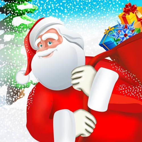 Vuelo Papá Noel 2 - carrera de Navidad regalos de los niños de entrega bajo los árboles - edición gratuita