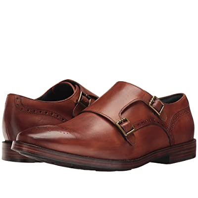 Cole Haan Hamilton Grand Double Monk (British Tan) Men