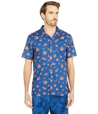 Nautica Print Sportshirt (Blue) Men
