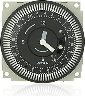 Grasslin by Intermatic FM/1 Series 24-Hour Timer STUZH-L with Manual Override
