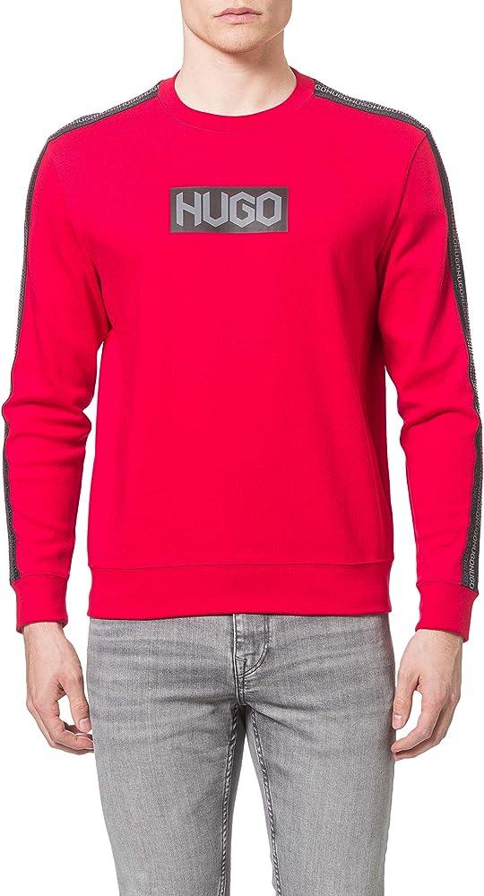 Hugo boss maglione per uomo felpa in cotone 100% 50448382