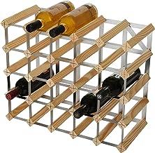 RTA 25 fles traditionele wijnrek-kit-natuurlijke grenen (FSC), hout, 52,3 x 42,6 x 23,3