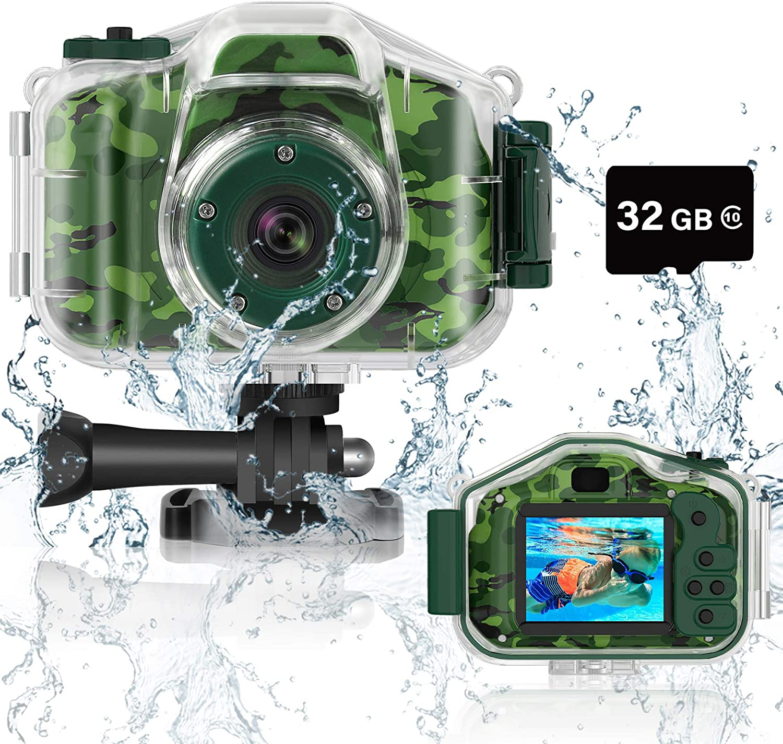 DEKER Kids Max 71% OFF Camera Underwater Ranking TOP18 for Waterproof Christma Best