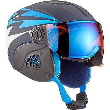 Carat Le Visor HM ALPINA Carat Le Visor HM Casque de Ski Enfant Enfant
