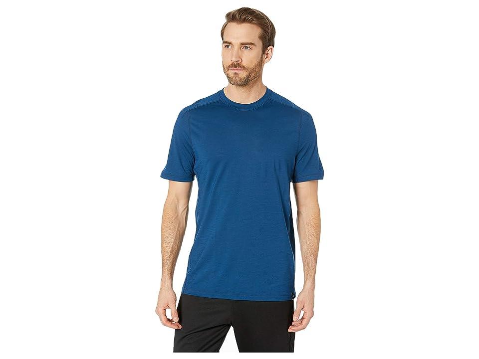Smartwool Merino Sport 150 Tech Tee (Alpine Blue) Men