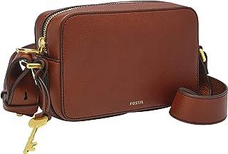 Fossil Billie Leather 20.32 cms Cognac Gym Shoulder Bag (ZB7889200)