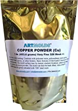 Copper Powder 325-mesh 1lb -- Use for Decorative Cold Casting and Inlay Work
