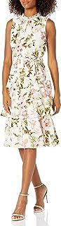 فستان جيسيكا هوارد للنساء مزين بالزهور مع تنورة طبقات