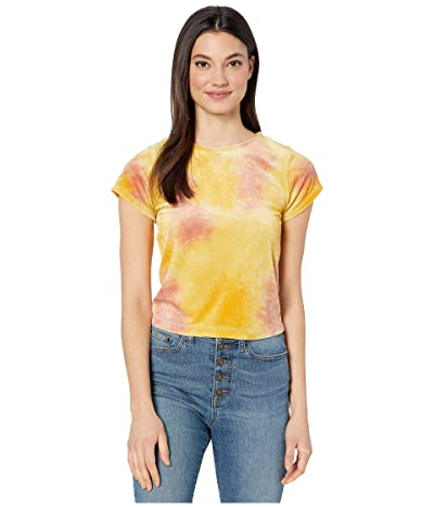 Free People Bright Eyes Tee (Yellow Combo) Women