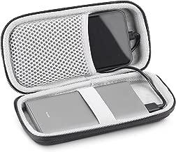 Mi Power Bank Case, KASMOTION Hard EVA Travel Carrying Case Protective Storage Bag for Mi Power Bank Pro 10000mAh Portable Charger