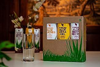 Forever Living Aloe Vera Gel Drink – Mixed Tripack – 1x Original Aloe Vera Gel 1x Aloe Berry Nectar 1x Aloe Peaches – 1L Each Estimated Price : £ 62,74