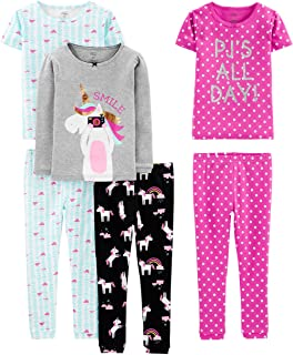 a5e1ebf3b Simple Joys by Carter's Baby, Little Kid, and Toddler Girls' 6-Piece