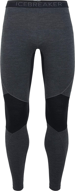 Icebreaker Zone Heavyweight Base Layer Leggings, New Zealand Merino Wool