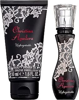 Christina Aguilera Unforgettable Gift Set 0.5oz (15ml) EDP + 1.7oz (50ml) Shower Gel
