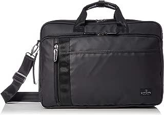 [マジェスティック ミル] ビジネスバッグ 3WAY(手提げ・リュック・ショルダー/キャリー通し付き) ブリーフケース 防水カサ袋付属 MMB0007