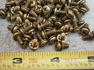 Machine Screws #6/32 x 5/16 Phillips Pan Head Sems Int. Steel Lot of 50#6055 Screw Assortment Kit Set