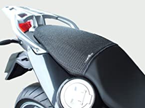 2007-2012 TRIBOSEAT Housse de si/ège Anti Slip Passenger con/çue pour sadapter /à la Couleur Noire Compatible avec Kawasaki Z750