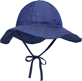SimpliKids UPF 50+ UV Ray Sun Protection Wide Brim Baby Sun Hat