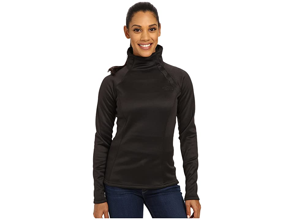 The North Face Agave 1/4 Snap (TNF Black Heather (Prior Season)) Women