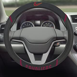 FANMATS 17205 NBA - Cleveland Cavaliers Steering Wheel Cover