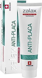 ZALAX ANTIPLACA - Pasta dental antisarro anticaries con fluor - Cuidado dental y Alta Higiene - 100 ml (1-PACK)