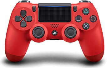 Sony DualShock 4 Wireless Controller PlayStation 4 Red - Renewed