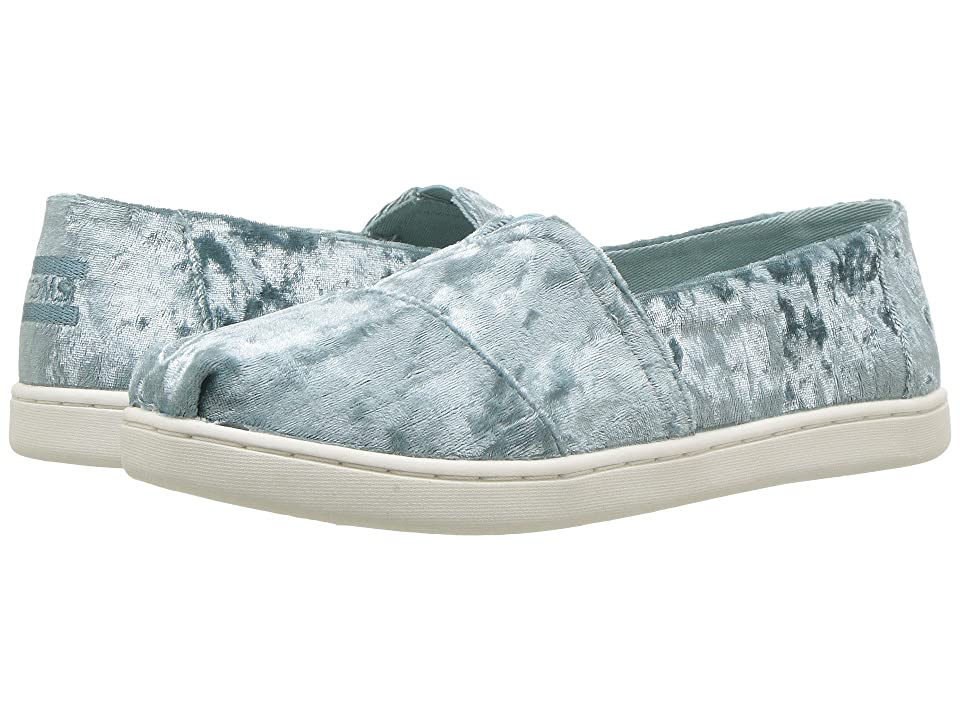 TOMS Kids Alpargata (Little Kid/Big Kid) (Frost Velvet) Girl