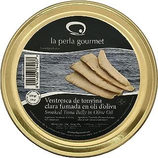 Ventresca de Atún Ahumada en aceite de oliva (170g) La Perla Gourmet