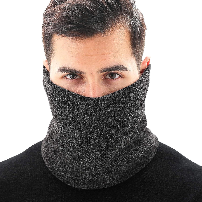 FairDew Thermal Neck Warmer for Women Men Cold Weather Scarf Face Cover Winter Neck Gaiter for Men Women Ski
