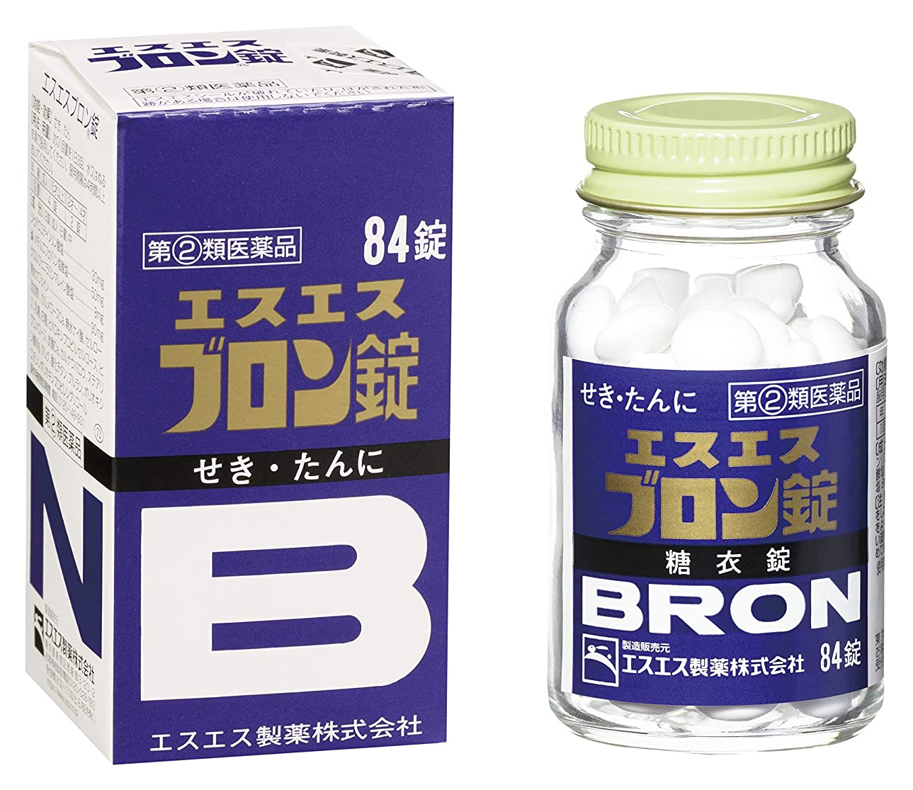 ロデオ気怠い額【指定第2類医薬品】エスエスブロン錠 84錠