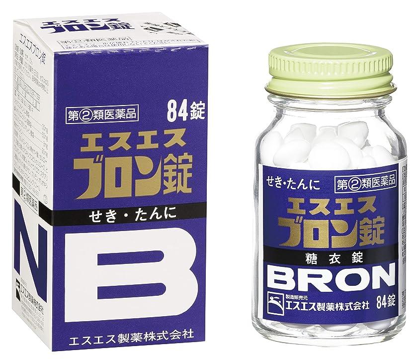 欲望遠足原因【指定第2類医薬品】エスエスブロン錠 84錠