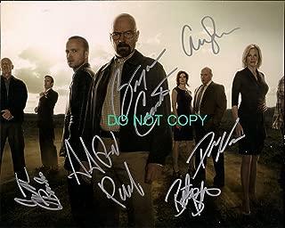 Breaking Bad cast 8x10 reprint signed photo #6 RP Cranston Paul