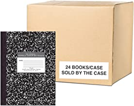 Roaring Spring 77479cs Premium Composition Books, 80 sheets/Heavy Weight 20# Smooth White Paper, Oversized 10.25 x8