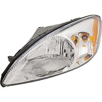 Halogen Head Lamp Assembly Driver Side Fits 2000-2007 Ford Taurus FO2502169