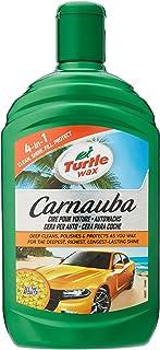 Turtle Wax Carnauba vloeibare autowax, detailering, duurzame bescherming en glans, 500 ml, 52857